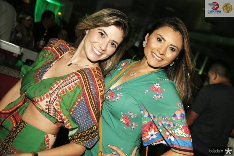 Angelica Dias e Evelin Porto