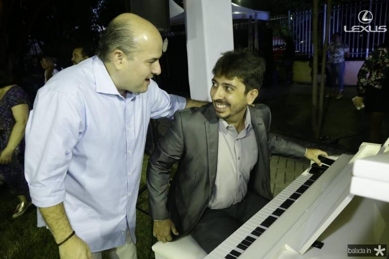 Roberto Claudio e Felipe Adjafre