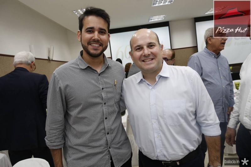 Cabral Neto e Roberto Claudio