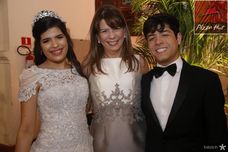 Lissa, Aline e Emanuel Telles Chaves 1