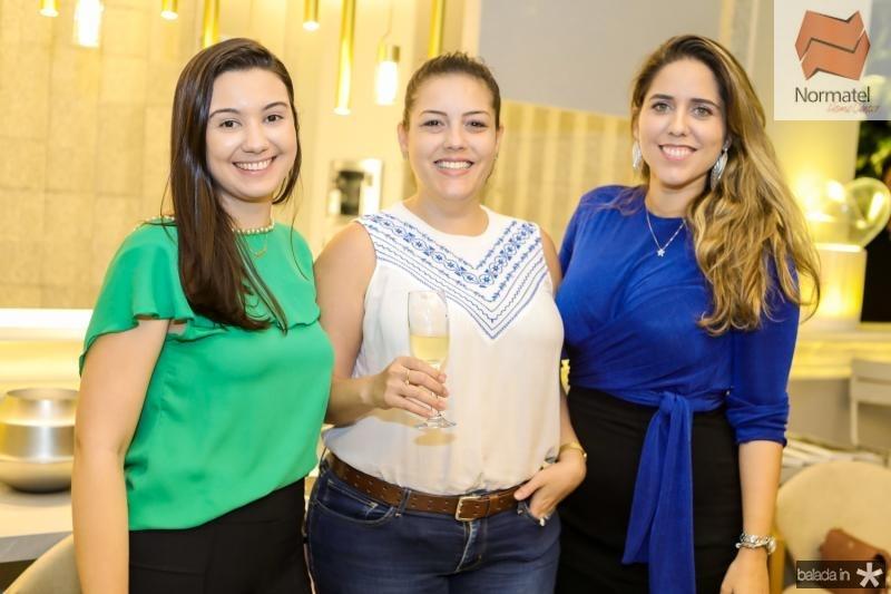 Rebeca Crisostomo, Luana Arruda e Rebeca Bastos