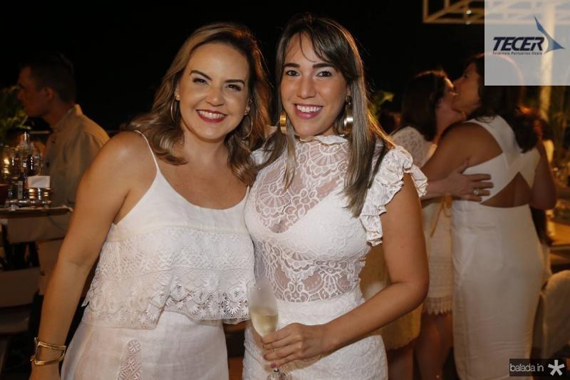 Cristina Ary e Rafaela Freire