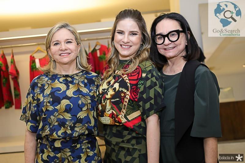 Natercia Jereissati, Maria Clara Dallolio e Ana Celi Andrade