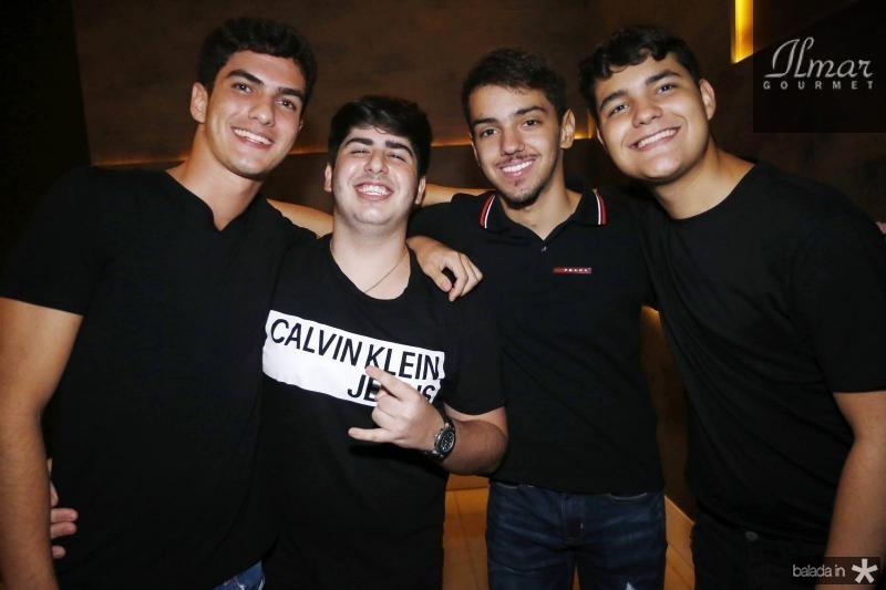 Joao de Castro, Rafael Otoch, Joao Victor Lira e Pedro Girao