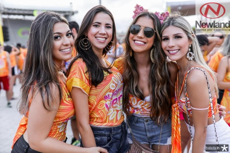 Livia Ximenes, Luana Araujo, Sana Leticia e Amanda Vasconcelos