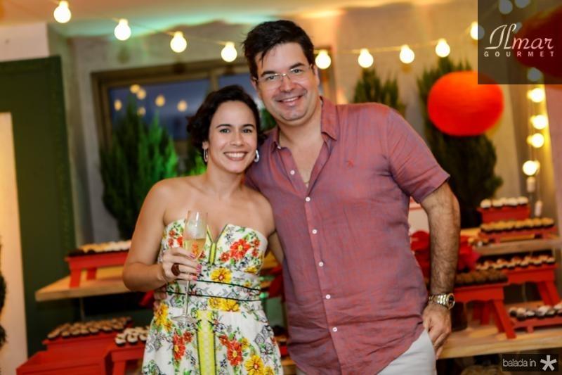 Carol Vago e Andre Pires