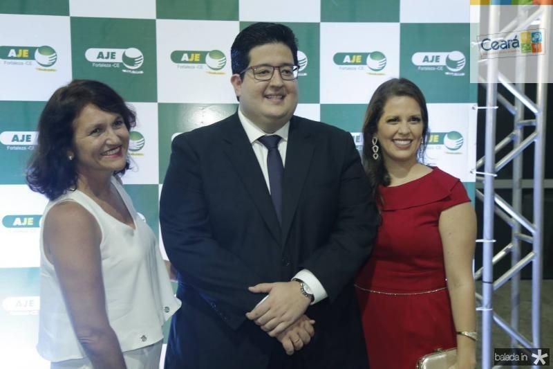Suely Teixeira, Yuri Torquato e Sara Teixeira
