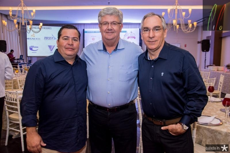 Paulo Henrique, Carlos Maia e Eugenio Caldas