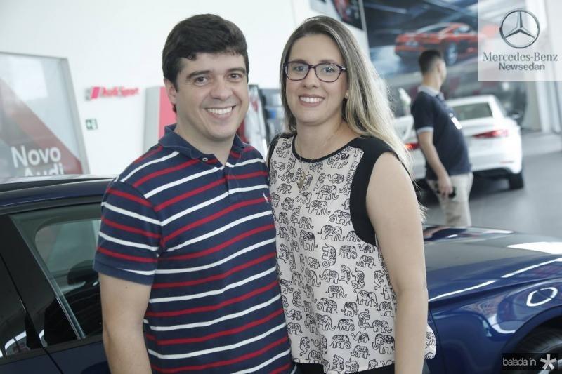 Ribeiro Junior e Camila Figueiredo