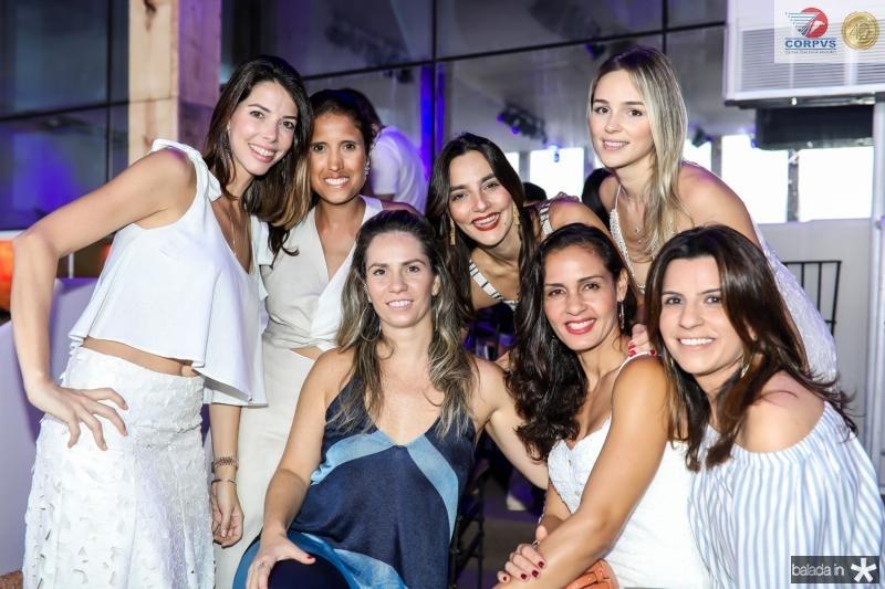 Roberta Carvalho, Cristine Perez, Carol Picanço, Lara Romcy, Juliana Hemans, Tarcia Ferreira e Raquel Fechine