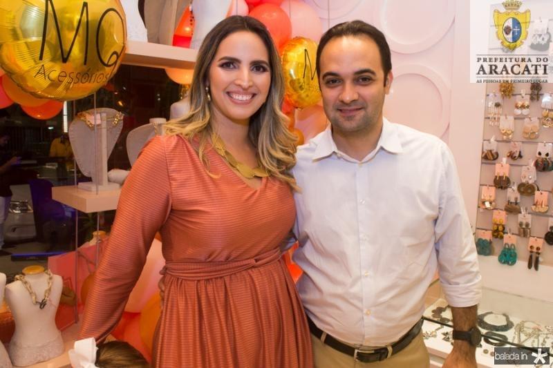 Mariana Queiroz e Felipe Gurgel
