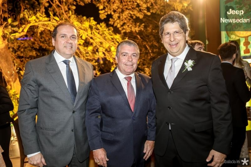 George Assunçao, Ricardo Studart e Lucio Bomfim
