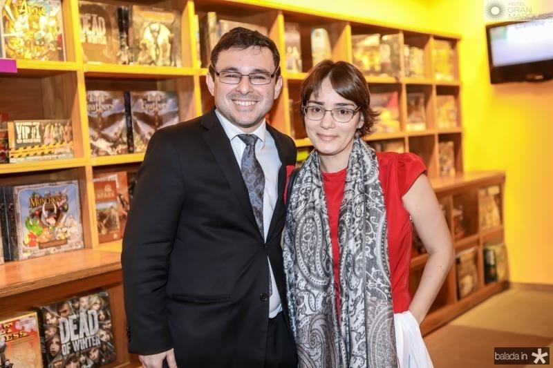 Robson Sabino e Fayga Bede