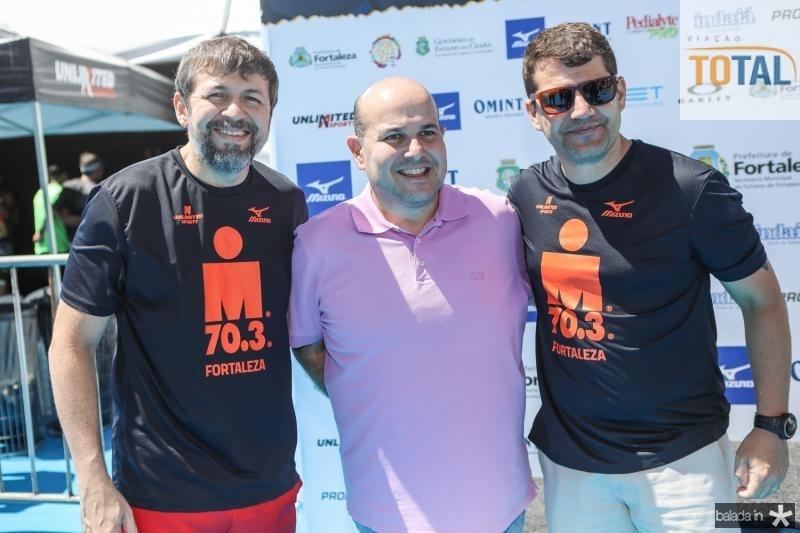 Elcio Batista, Roberto Claudio e Rogerio Pinheiro