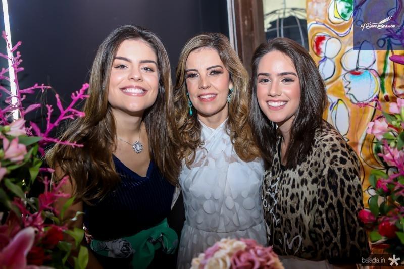Camila Nogueira, Rosele Diogo e Isabella Nogueira