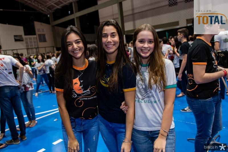 Giulia Frota, Maria Clara Catunda e Julia Matos