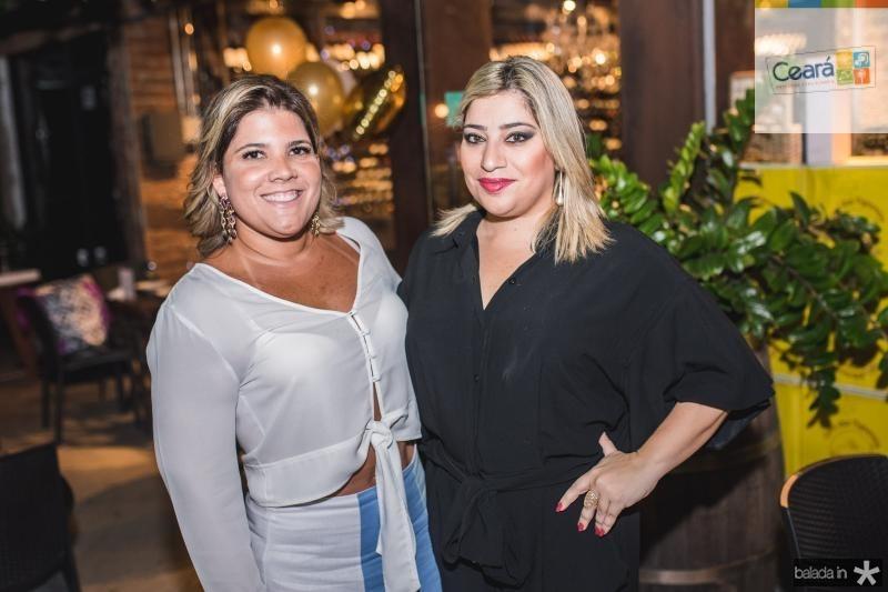 Gisela Vieira e Manu Romcy