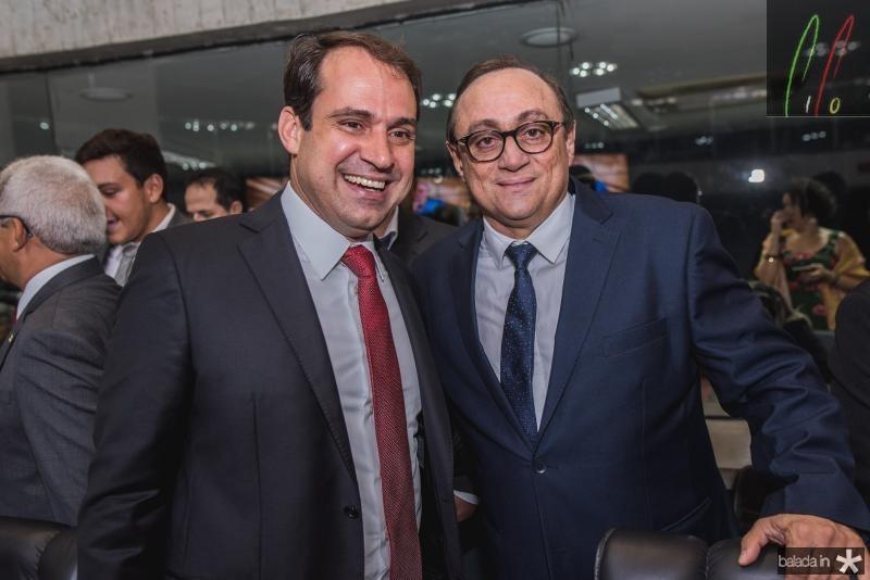 Salmito Filho e Tim Gomes