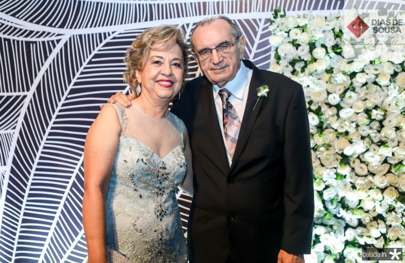 Fatima e Wanderley Linhares