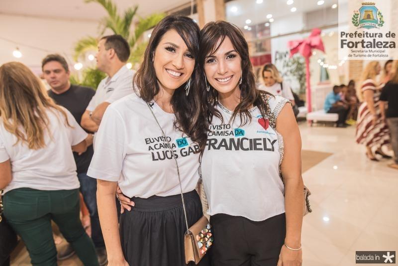 Lia Quindere e Ingrid Machado