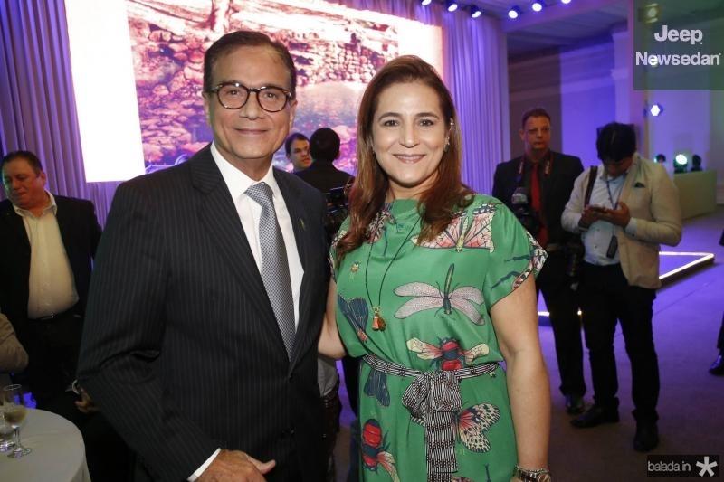 Beto Studart e Patricia Macedo