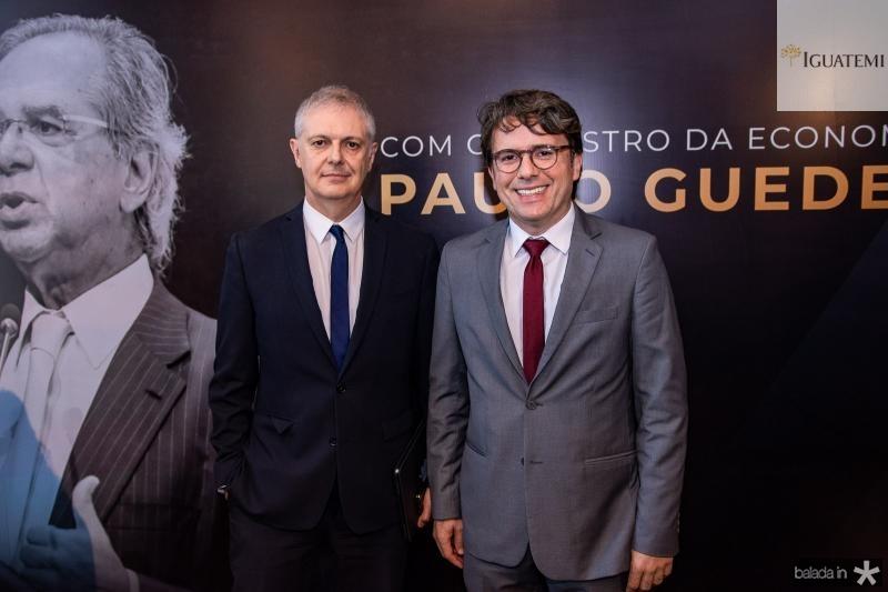 Fernando Rodrigues e Cyro Thomaz