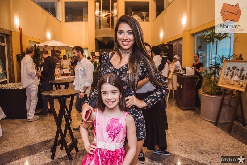 Gisele Amistade e Jessica Vasconcelos