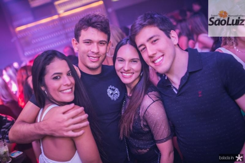 Leticia Monteiro, Luis Eduardo, Gabriele Viana e Armando Rangel
