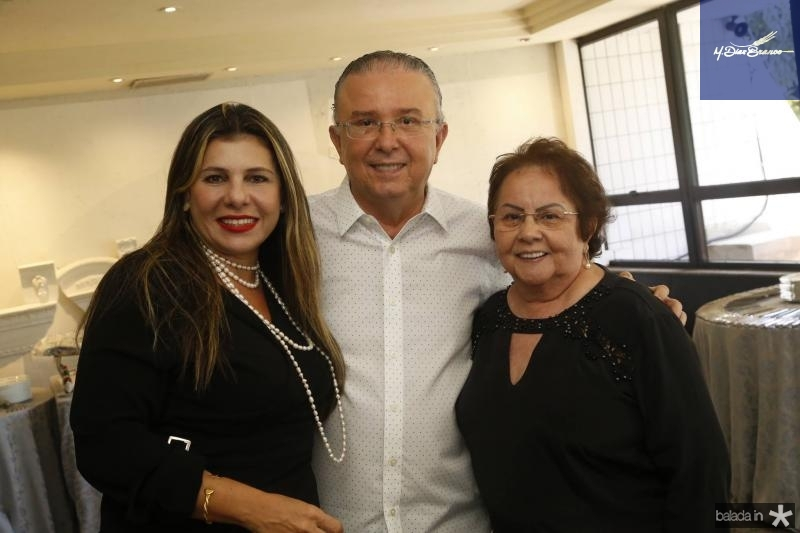Erika Ximenes, Antonio Jose Mello e Francilene Macedo