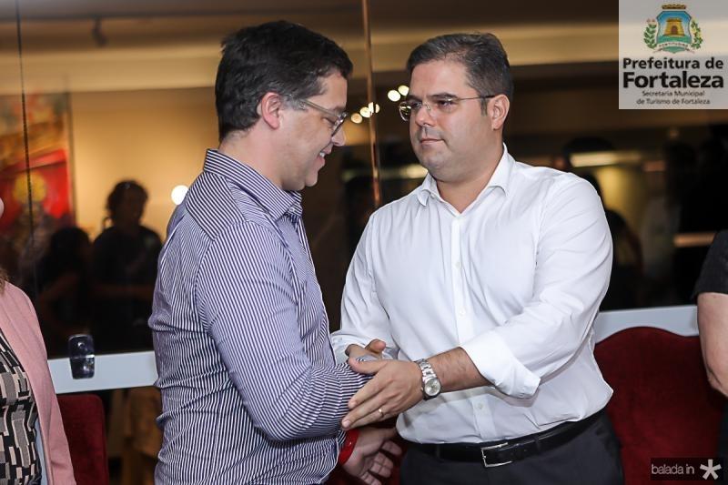 Eduardo Saron e Edson Queiroz Neto