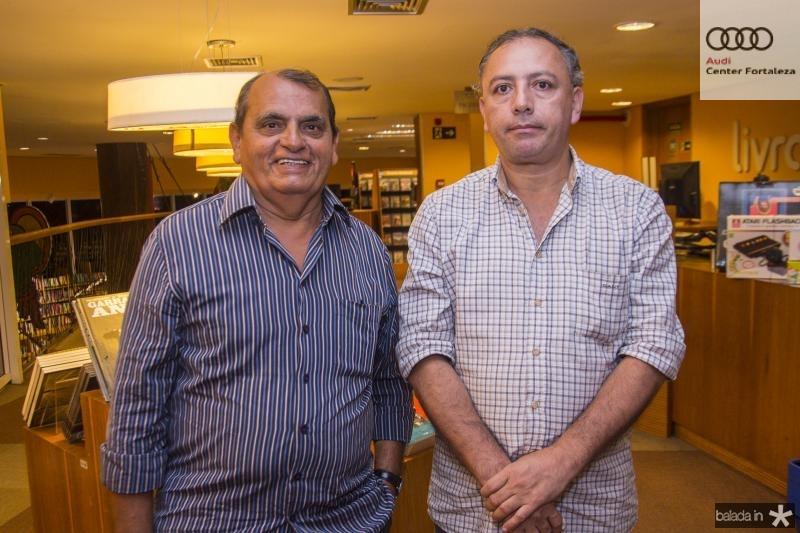 Rock Trajano e Henrique Pinto