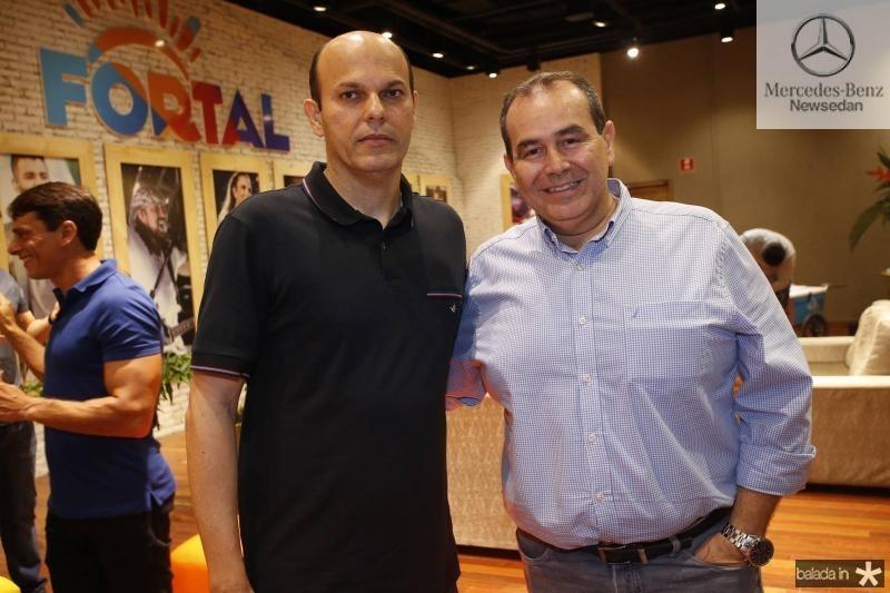 Ailton Junior e Fabio Ambrosio