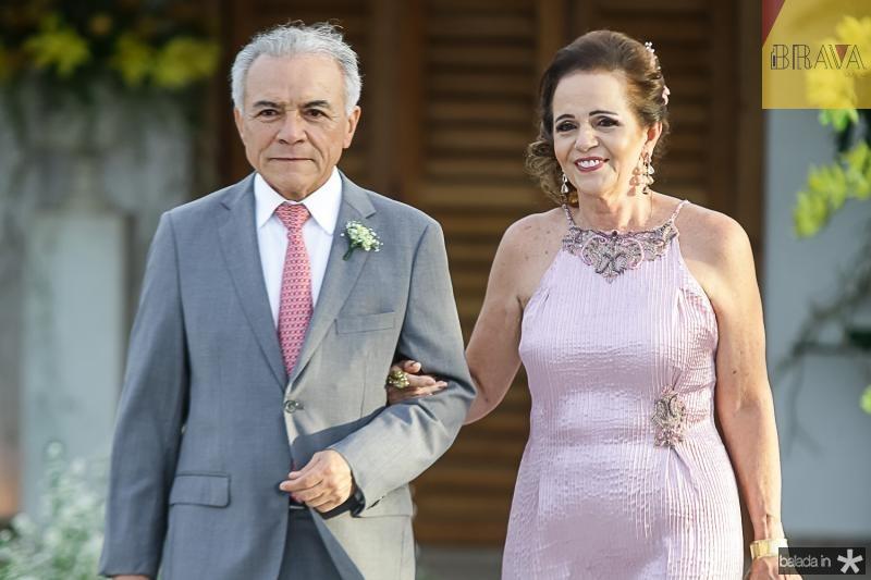 Minervino de Castro e Clarissa Brandao