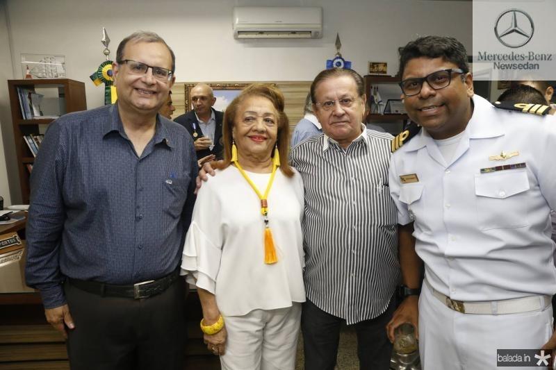 Henrique Braga, Perpetua Pinto, Alvaro Andrade e Jose Roberto