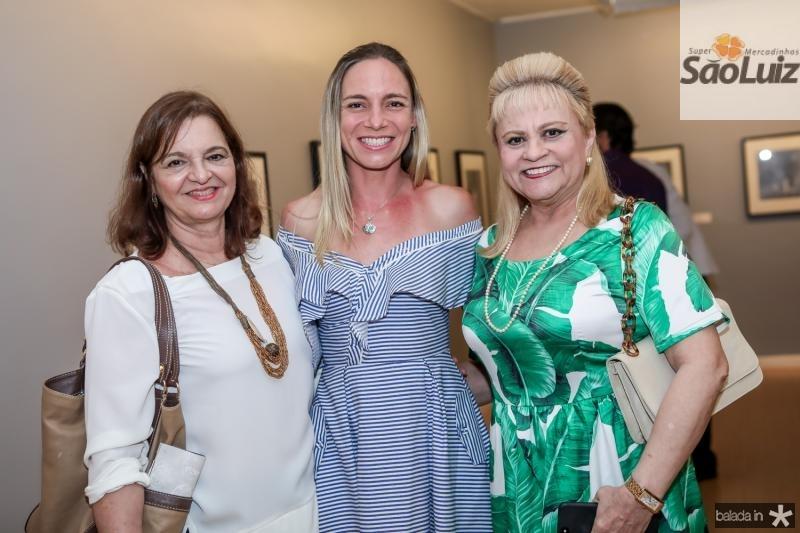 Fatima Belchior, Kendra Lima e Excelsa Costa Lima