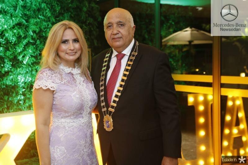 Linda Nunes e Epitacio Vasconcelos