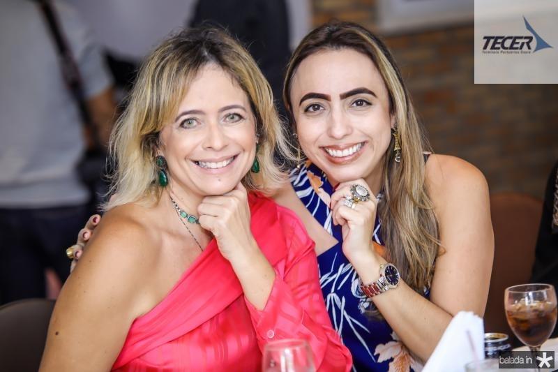 Andrea Fialho e Mabel Portela