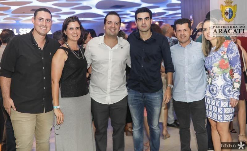 Italo Ferrer, Manuela Nogueira, Rodrigo Ponte, Rodrigo Nogueira, Erick e Raquel Vasconcelos