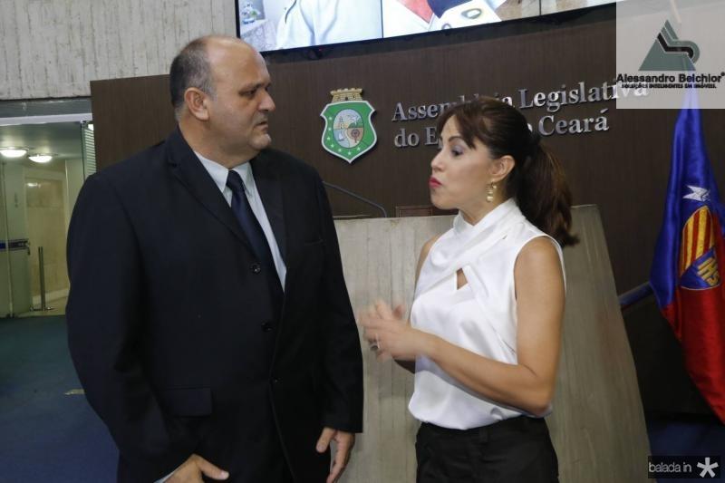 Glauber Babe e Andrea Lopes