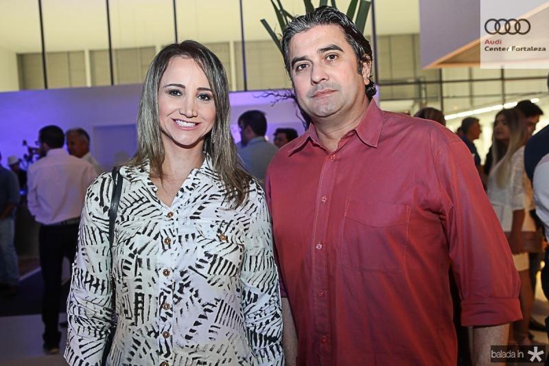 Izara Parente e Jorge Vieira