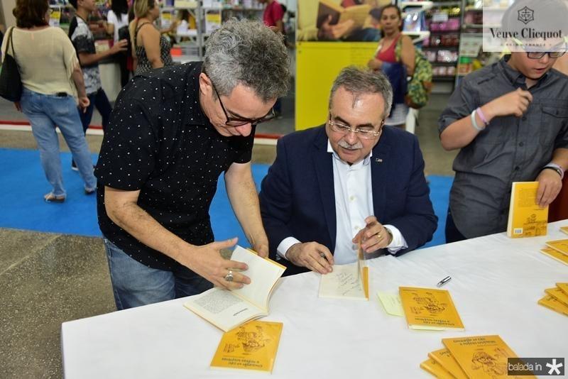 Tarde de autografos com Assis Cavalcante (