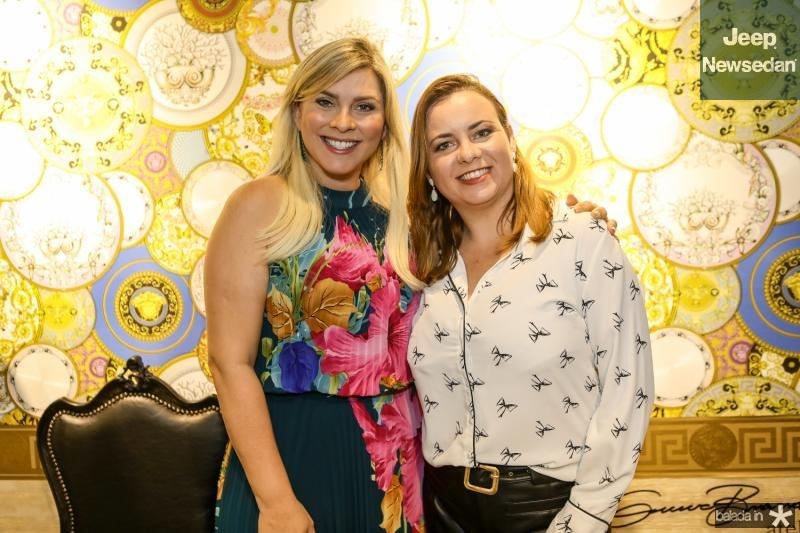 Genice Brandao e Flavia Marques