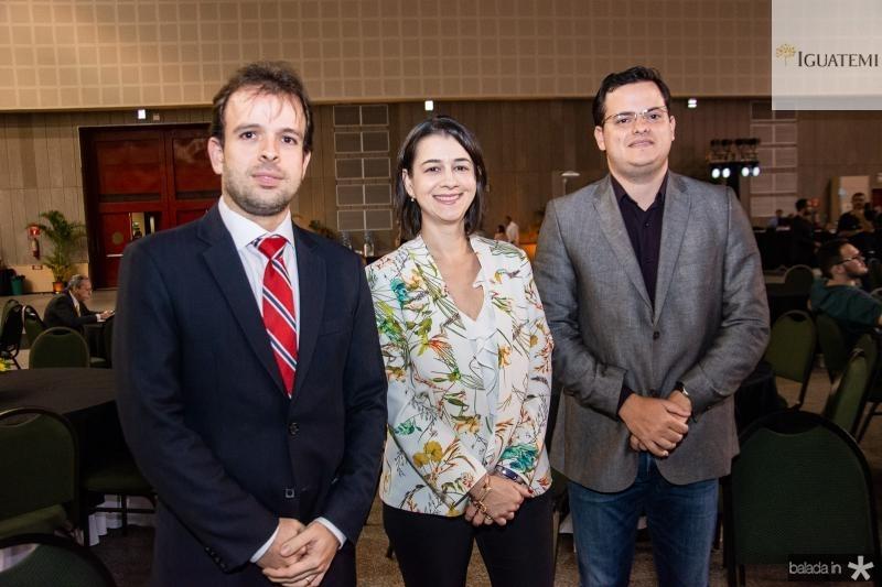 Joao Paulo Nogueira, Daniele Queiroz e Raimundo Neto