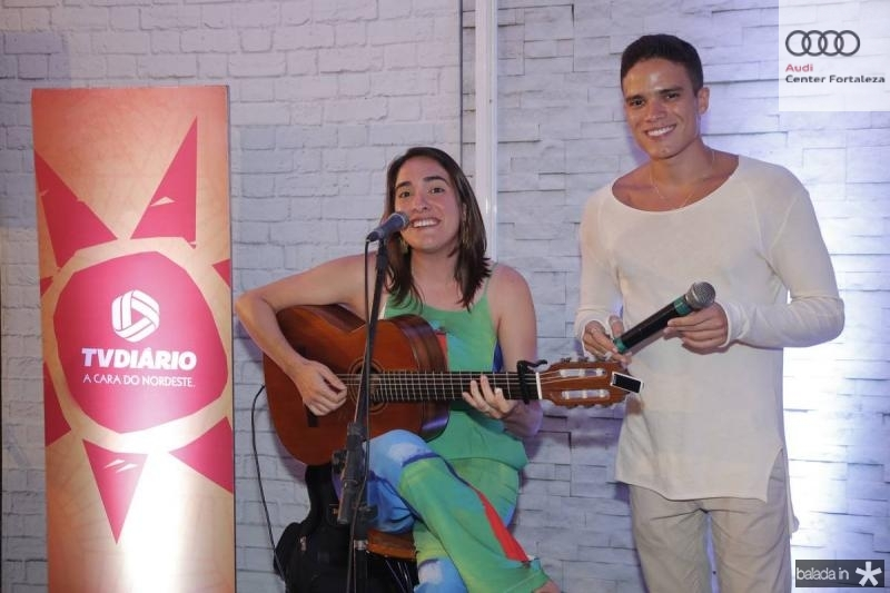 Rebeca Camara e Marcos Lessa