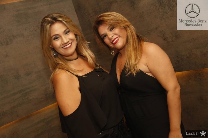 Danielle Cabral e Roberta Aguiar