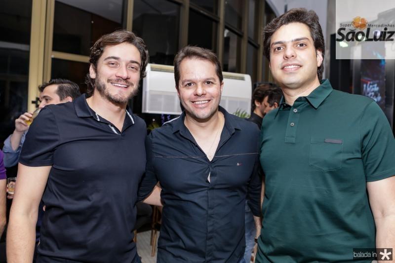 Vicente Braga, Damiao Tenorio e AJ Albuquerque