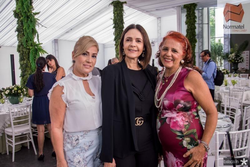 Regina Mindelo, Mirian Pereira e Fatima Duarte