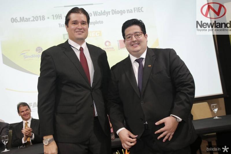 Fernando Laureano e Yuri Torquato