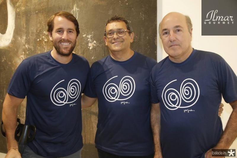 Rodrigo Frota, Jose Guedes e Silvio Frota