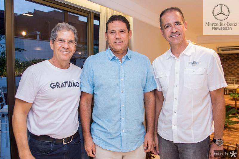 Severino Ramalho Neto, Marcus Medeiros e Regis Medeiros